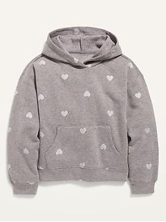 Pullover Fleece Hoodie for Girls
