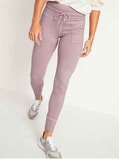 High-Waisted CozeCore Jogger Sweatpants for Women