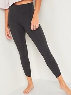 High-Waisted Balance Keyhole-Leg 7/8-Length Leggings for Women