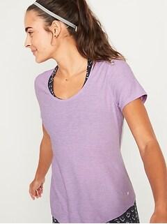 T-shirt Breathe ON performance avec dos en maille pour femme