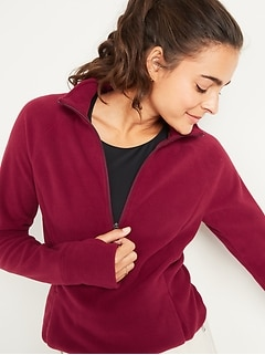 Chandail en molleton Go-Warm avec fermeture au quart en micromolleton Performance Fleece pour femme