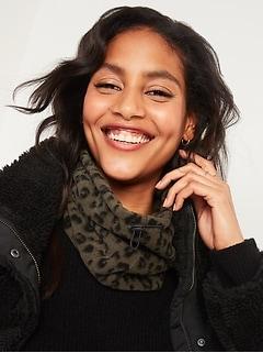 Cozy Performance Fleece Face-Warming Snood for Women