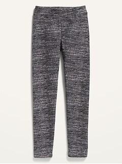 Cozy-Lined Leggings for Girls