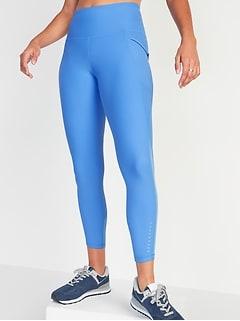 Legging de course Elevate Powersoft mi-long à taille haute, poche latérale pour femme