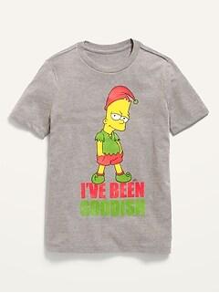 T-shirt unisexe à imprimé culture pop autorisé pour enfant