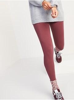 High-Waisted Jersey Leggings For Women