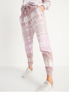 Pantalon d'entraînement fuselé à taille moyenne pour femme