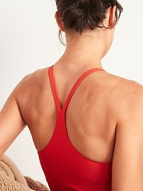 Light Support Powersoft Longline Sports Bra for Women