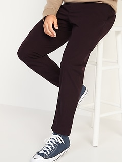 Athletic Ultimate Built-In Flex Patterned Chino Pants for Men