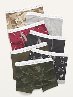 Boxer Brief Printed 7-Pack for Toddler Boys