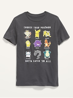 Gender-Neutral Pokémon Graphic Tee for Kids
