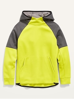 Color-Blocked Techie Fleece Pullover Hoodie for Boys