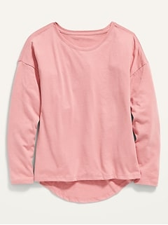 Softest Long-Sleeve Tee for Girls