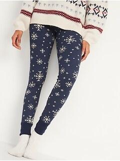 Thermal-Knit Pajama Leggings for Women