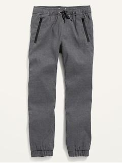 Built-In Flex Dry-Quick Zip-Pocket Jogger Tech Pants for Boys