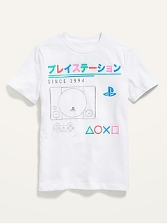 Sony PlayStation™ Graphic Gender-Neutral Tee for Kids