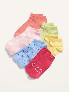 Chaussettes basses à imprimé pour Fille (paquet de 6paires)