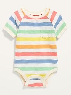 Cache-couche raglan unisexe en tricot flammé pour Bébé