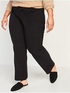 Mid-Rise Cozy Micro Performance Fleece Plus-Size Pajama Pants