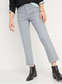 All-New High-Waisted Pixie Straight-Leg Ankle Pants for Women