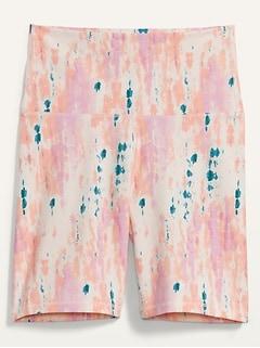 Extra High-Waisted Balance Biker Shorts for Women -- 8-inch inseam