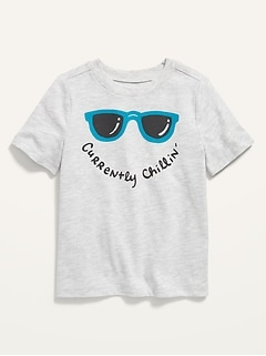 Unisex Short-Sleeve Graphic Tee for Toddler