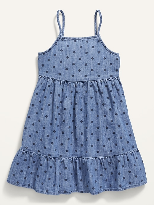 Fit & Flare Polka-Dot Cami Dress for Toddler Girls