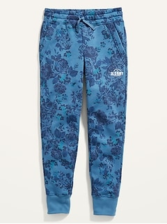 Logo-Graphic Street Jogger Sweatpants for Girls