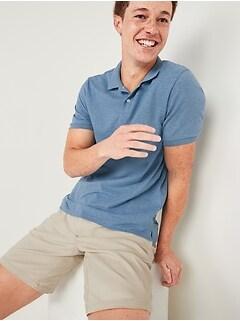 Moisture-Wicking Pique Pro Polo for Men