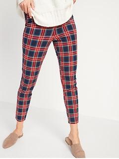 Tout nouveau pantalon Pixie, longueur à la cheville, à taille haute et motifs