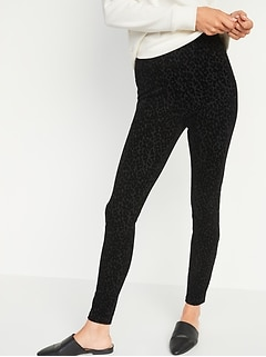 High-Waisted Stevie Leopard-Print Pants For Women