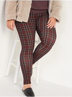 Legging à taille haute et imprimé en jersey, Tailleforte