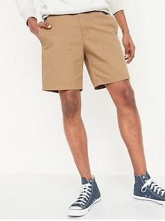 Slim Ultimate Chino Shorts for Men -- 8-inch inseam