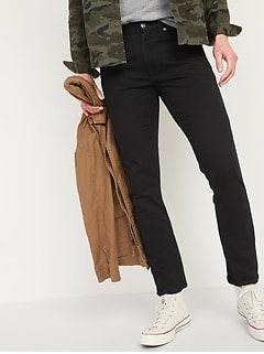 Slim Rigid Non-Stretch Twill Five-Pocket Pants for Men