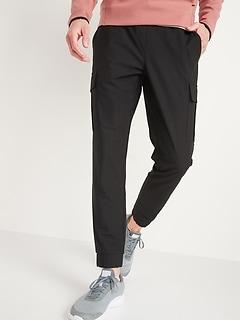 Slim Go-Dry Cool Hybrid Jogger Cargo Pants for Men