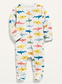 Unisex Printed Sleep & Play One-Piece for Baby