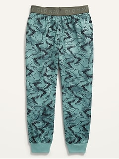 Printed Jersey Pajama Joggers for Boys