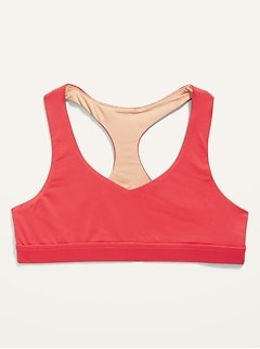 Go-Dry Cutout-Back Sports Bra for Girls