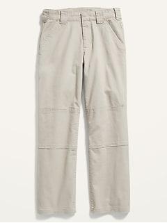 Pantalon cargo en sergé pour Enfant