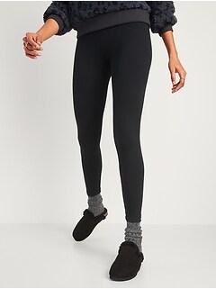 High-Waisted Cozy-Lined Leggings for Women