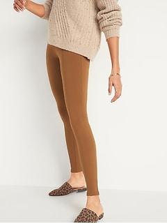 Pantalon Stevie à taille haute en tricot ponte pour femme