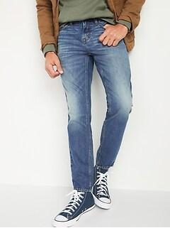 Athletic Taper Rigid Non-Stretch Jeans for Men