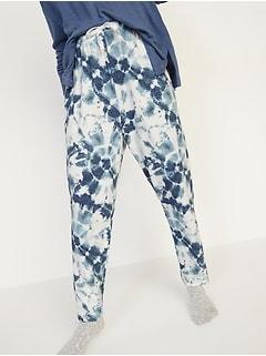 Cozy Plush-Knit Lounge Pants for Women