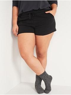 Mid-Rise Vintage Plus-Size Sweat Shorts -- 3.5-inch inseam