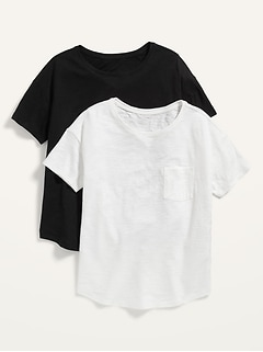 Loose Easy Pocket Tee 2-Pack for Women