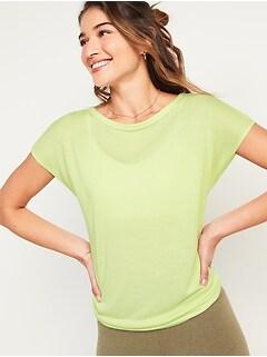 UltraLite Tie-Back Cocoon Top for Women