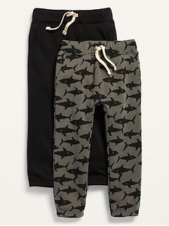 Unisex 2-Pack U-Shaped Pants for Toddler