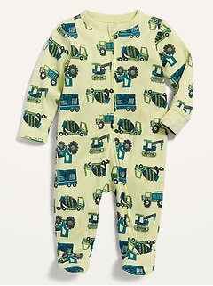 Printed Sleep & Play Footed One-Piece for Baby