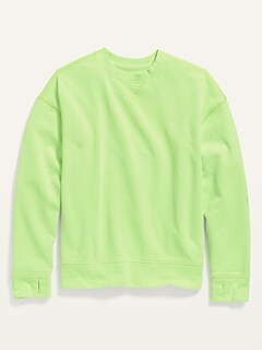 Oversized Vintage Specially-Dyed Gender-Neutral Sweatshirt for Kids