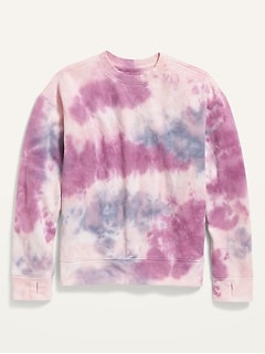 Oversized Specially-Dyed Gender-Neutral Sweatshirt for Kids